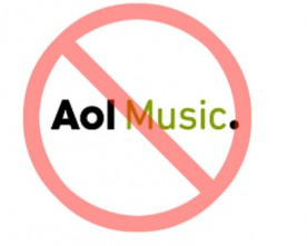 AOL Music Ends