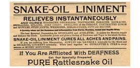 Audio Snake Oil: Alive and Well