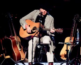 Neil Young Solo Concert: An Intimate Performance for 3500!