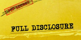 Disclosure or Definition?