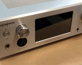 Oppo Headphone Amplifier HA-1: Up Close