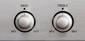 Bass, Midrange, Treble and Trouble.
