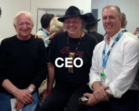 Neil Young Replaces John Hamm As Pono CEO!