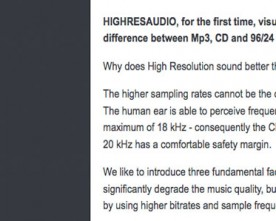 Why Does High Resolution Sound Better Than CD?