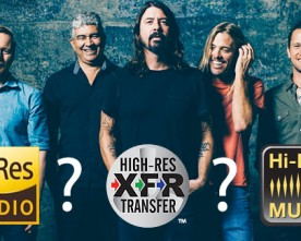 Sony and Foo Fighters Partner to Promote Hi-Res Audio