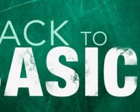 Getting Back To Basics