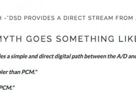 Audio Myths – Benchmark's John Siau Takes on DSD