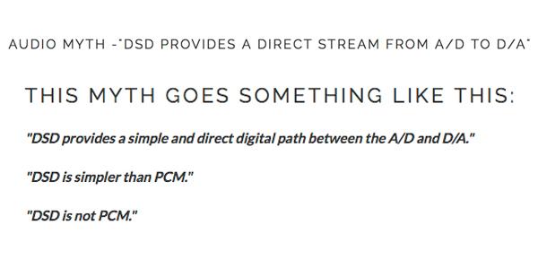 Audio Myths – Benchmark's John Siau Takes on DSD   Real HD-Audio