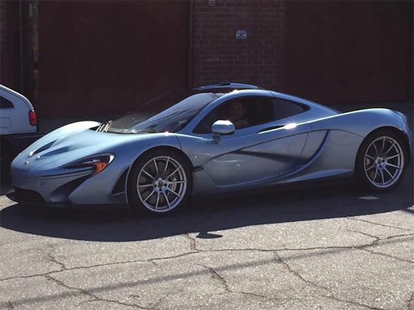 McLaren P2 outside my window