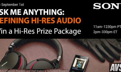 Ask Me Anything: Defining Hi-Res Audio