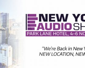 The New York Audio Show – November 4-6
