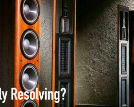Highly Resolving Audio Systems: Required or Not?