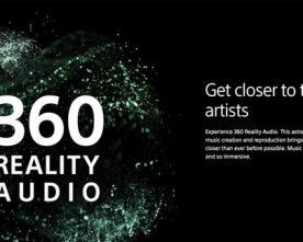 Sony's 360 Reality Audio