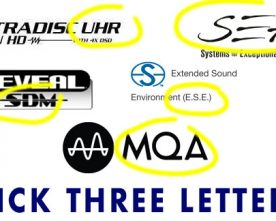 Audiophile Marketing: Pick Three Letters