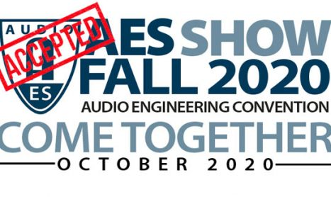 The HD-Audio Challenge II Was Accepted For Fall AES!